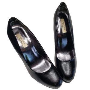 Simply Vera | Black Stiletto Platform Heels Pumps